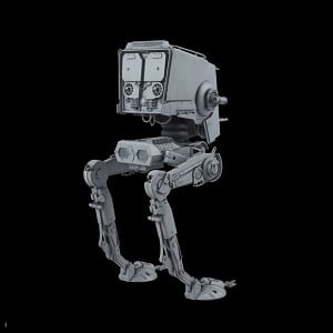 Opiniones AT-ST plastic model bandai