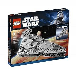Precio destructor estelar imperial star wars 8099 lego