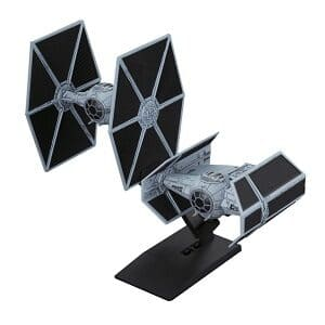Maquetas Tie Advanced x Tie Fighter